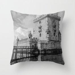 Belem Tower Lisbon 4 Throw Pillow