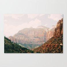 zion national park 1 Canvas Print