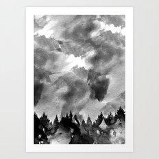 The Black Forest Art Print