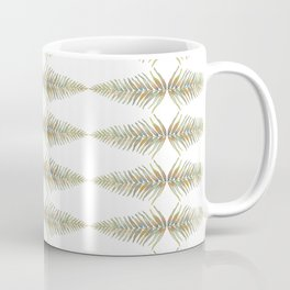 Watercolor Fern Pattern Coffee Mug