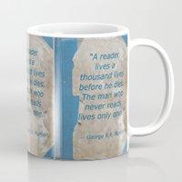 books Mugs featuring Books by Dora Birgis