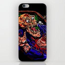Vampire zombie  cartoon illustration iPhone Skin