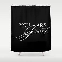 Reminder Shower Curtain