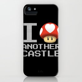 I Love Another Castle iPhone Case