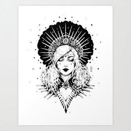 Ink Goddess Art Print