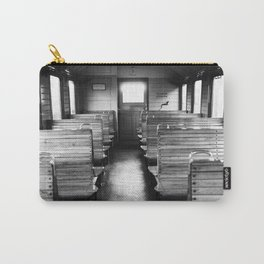 Old train compartment - Altes Zugabteil Carry-All Pouch