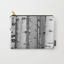 Into the Woods / Black & White Carry-All Pouch