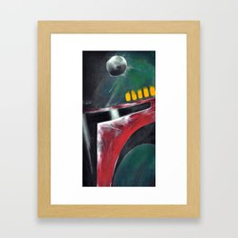 War Paint Framed Art Print