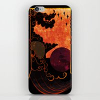 astronomy iPhone & iPod Skins featuring Muse of Astronomy  by Anthony Akanbi