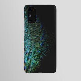 Peacock Details Android Case