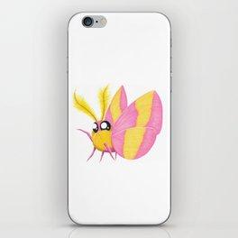 Rosy Maple Moth iPhone Skin
