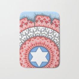 Captain (Star of David) America Bath Mat