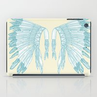 headdress iPad Cases featuring Headdress by Deleted