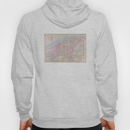 Vintage Map of Buffalo NY (1915) Hoody