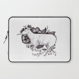 Sheep - Go Vegan Laptop Sleeve