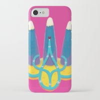 ukraine iPhone & iPod Cases featuring Ukraine by nushutu