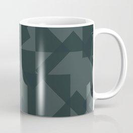 grey pattern // geometric Coffee Mug