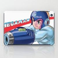 megaman iPad Cases featuring Megaman Fanart by avimHarZ