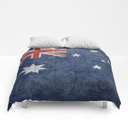 The National flag of Australia, Vintage version Comforters