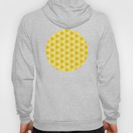 Yellow Honeycomb Hoody