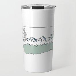 Washington Sketch Travel Mug