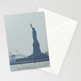 Statue of Liberty from Manhattan Stationery Cards