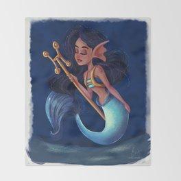 Horoscope: Pisces Throw Blanket
