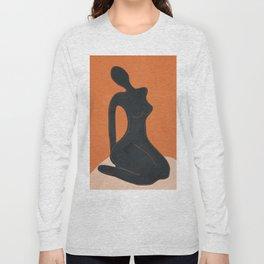 Abstract Nude II Long Sleeve T-shirt