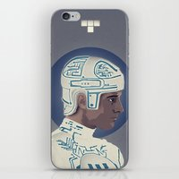 tron iPhone & iPod Skins featuring Tron by Perry Misloski
