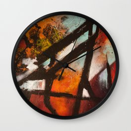 Tourist Attractions Wall Clock