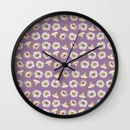 just a few blossoms II Wall Clock