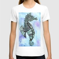 tatoo T-shirts featuring Tatoo Seahorse by PepperDsArt
