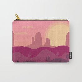 Sunrise Desert Carry-All Pouch