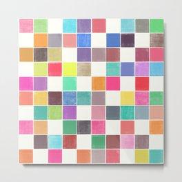 colorquilt 1 Metal Print