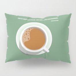 Coffee with Jonathan Swift Pillow Sham