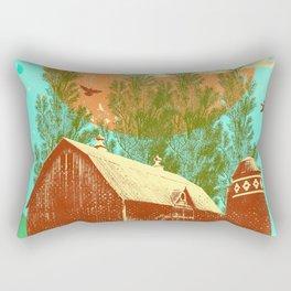 PLANE FARM Rectangular Pillow