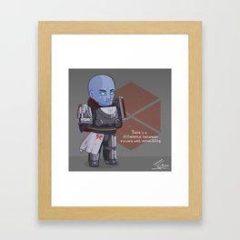 Heavy Armorer Framed Art Print