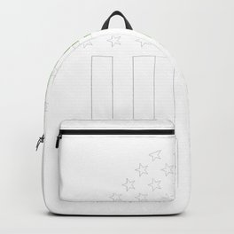 Baltimore Irish prints by Howdy Swag graphic Backpack