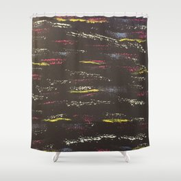 Same direction, different wavelengths Shower Curtain