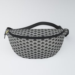 Chinese Scales Black Dragon Fanny Pack