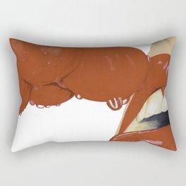 Cherry lips Rectangular Pillow
