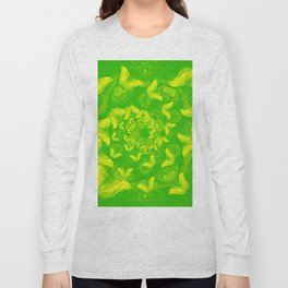 A flutter vortex of butterflies Long Sleeve T-shirt