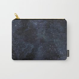 Antique World Star Map Navy Blue Carry-All Pouch