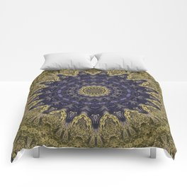 Better than Yours Colormix Mandala 1 Comforters