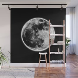 Moon Illuminated Wall Mural