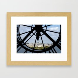 Paris from Musee d'Orsay Framed Art Print