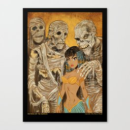 Mistress of the Mummies Canvas Print