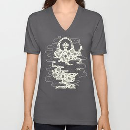 The Magician: Black Magic Unisex V-Neck