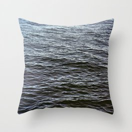 Water Ripples Throw Pillow