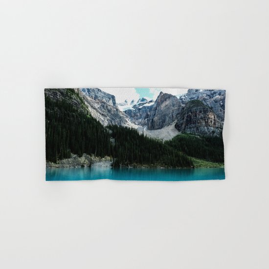 Moraine lake Wander (landscape) Hand & Bath Towel